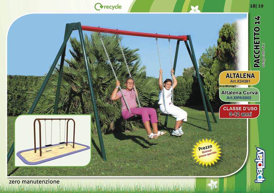 Altalene per bambini for Altalena chicco da giardino